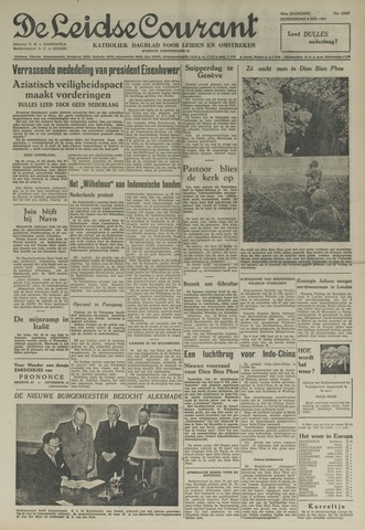 Leidse Courant 1954-05-06