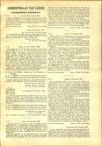 Handelingen van de Raad 1902-12-27