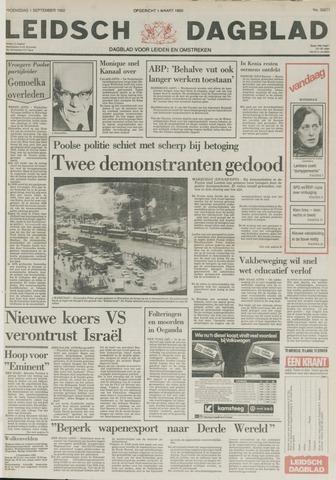 Leidsch Dagblad 1982-09-01