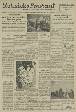Leidse Courant 1950-09-07