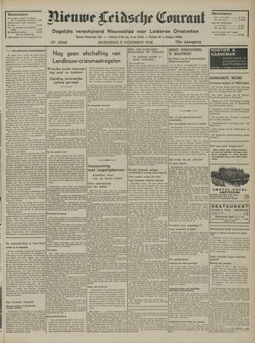 Nieuwe Leidsche Courant 1938-11-09