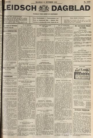 Leidsch Dagblad 1932-11-21