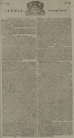 Leydse Courant 1734-02-24