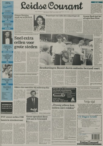Leidse Courant 1992-06-02