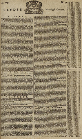 Leydse Courant 1752-05-01