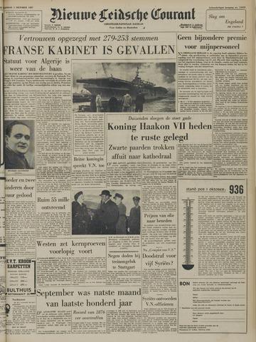 Nieuwe Leidsche Courant 1957-10-01