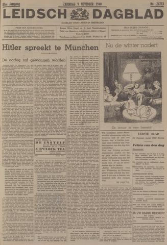 Leidsch Dagblad 1940-11-09