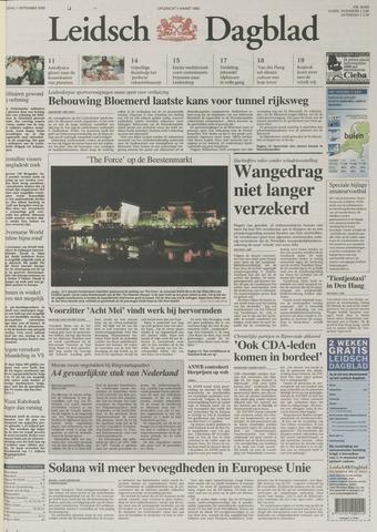 Leidsch Dagblad 2000-09-01