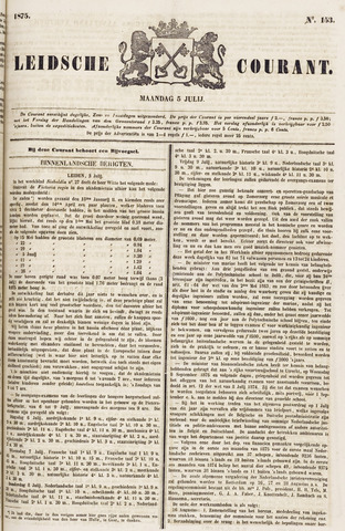 Leydse Courant 1875-07-05