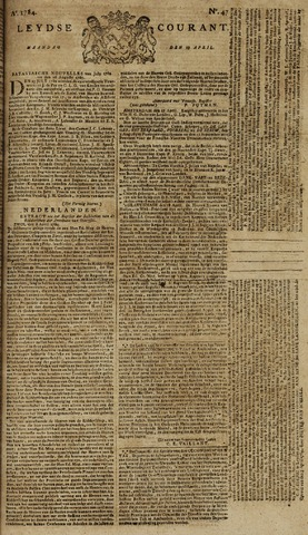 Leydse Courant 1784-04-19