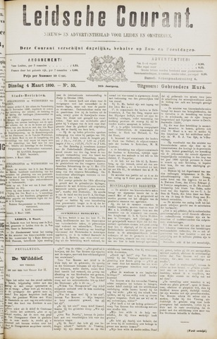 Leydse Courant 1890-03-04
