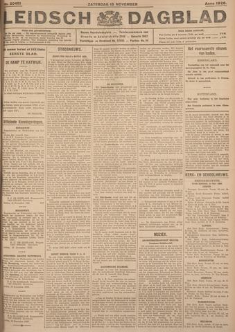 Leidsch Dagblad 1926-11-13
