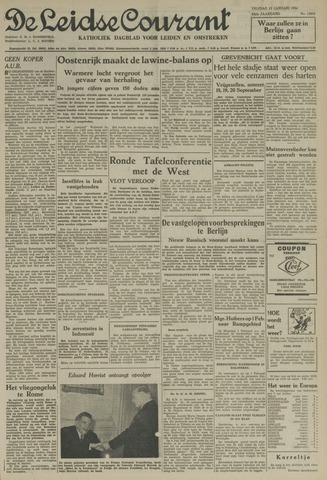 Leidse Courant 1954-01-15