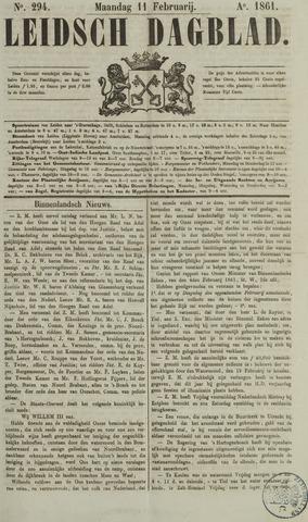 Leidsch Dagblad 1861-02-11
