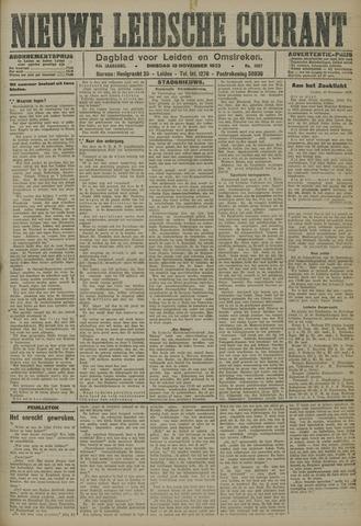 Nieuwe Leidsche Courant 1923-11-13