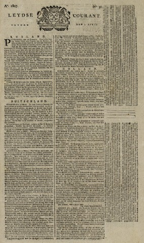 Leydse Courant 1807-04-03