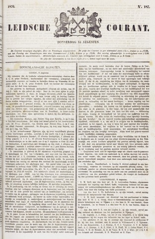 Leydse Courant 1876-08-10