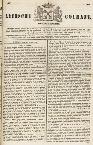 Leydse Courant 1872-11-02