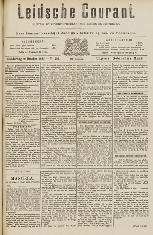 Leydse Courant 1887-10-27