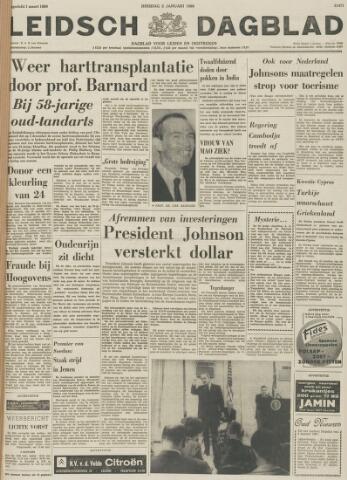 Leidsch Dagblad 1968