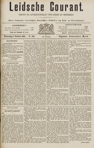 Leydse Courant 1885-10-07