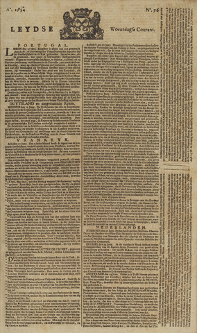 Leydse Courant 1754-06-26