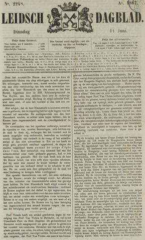 Leidsch Dagblad 1867-06-11