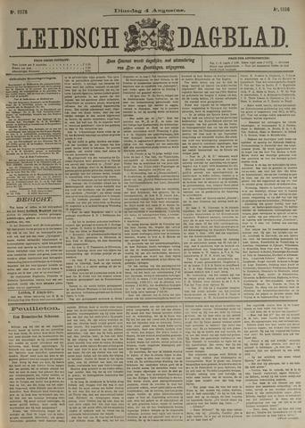 Leidsch Dagblad 1896-08-04