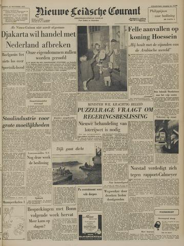 Nieuwe Leidsche Courant 1957-11-12