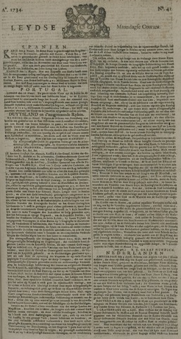Leydse Courant 1734-04-05