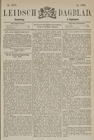 Leidsch Dagblad 1875-09-09