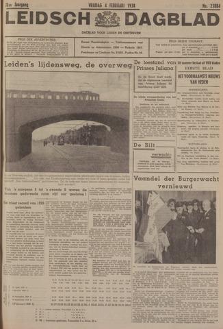 Leidsch Dagblad 1938-02-04