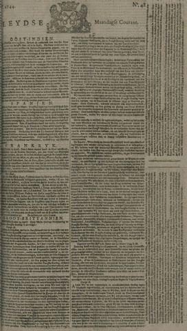 Leydse Courant 1744-04-20