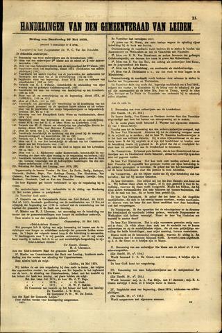 Handelingen van de Raad 1875-05-27