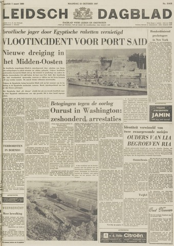 Leidsch Dagblad 1967-10-23