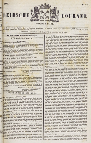 Leydse Courant 1882-03-03