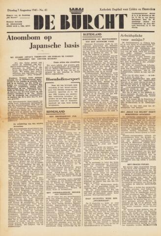 De Burcht 1945-08-07