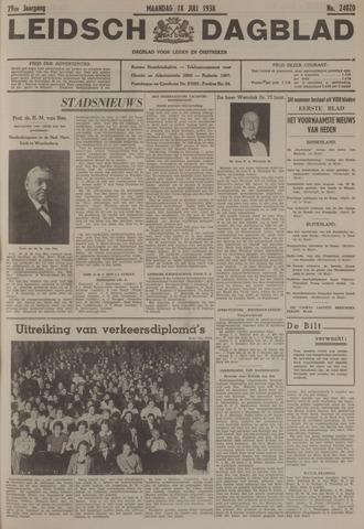 Leidsch Dagblad 1938-07-18