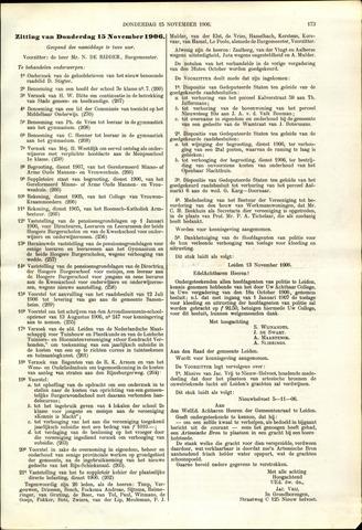 Handelingen van de Raad 1906-11-15