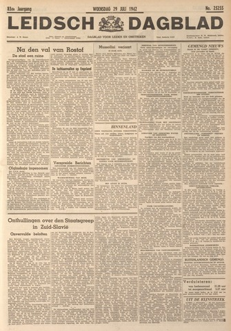 Leidsch Dagblad 1942-07-29