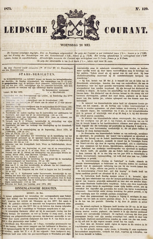 Leydse Courant 1875-05-26