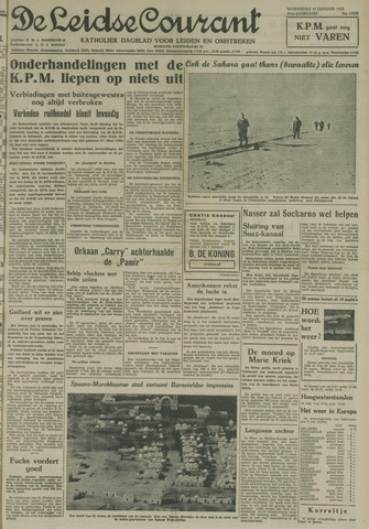 Leidse Courant 1958-01-15