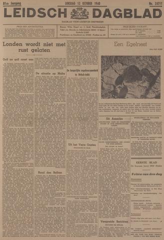 Leidsch Dagblad 1940-10-15