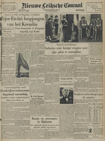 Nieuwe Leidsche Courant 1957-01-17