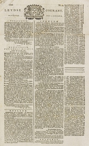 Leydse Courant 1820-01-05