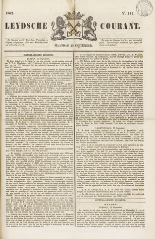 Leydse Courant 1862-09-29