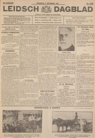 Leidsch Dagblad 1928-09-05