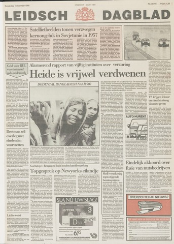 Leidsch Dagblad 1988-12-01