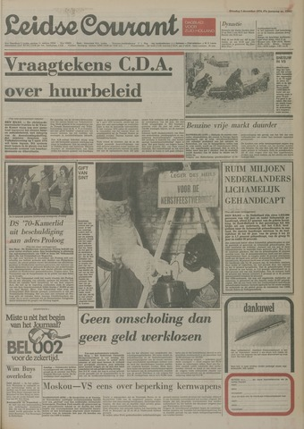 Leidse Courant 1974-12-03