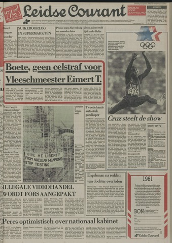 Leidse Courant 1984-08-07